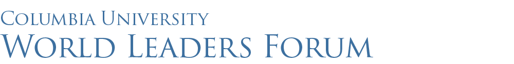 World Leaders Forum logo