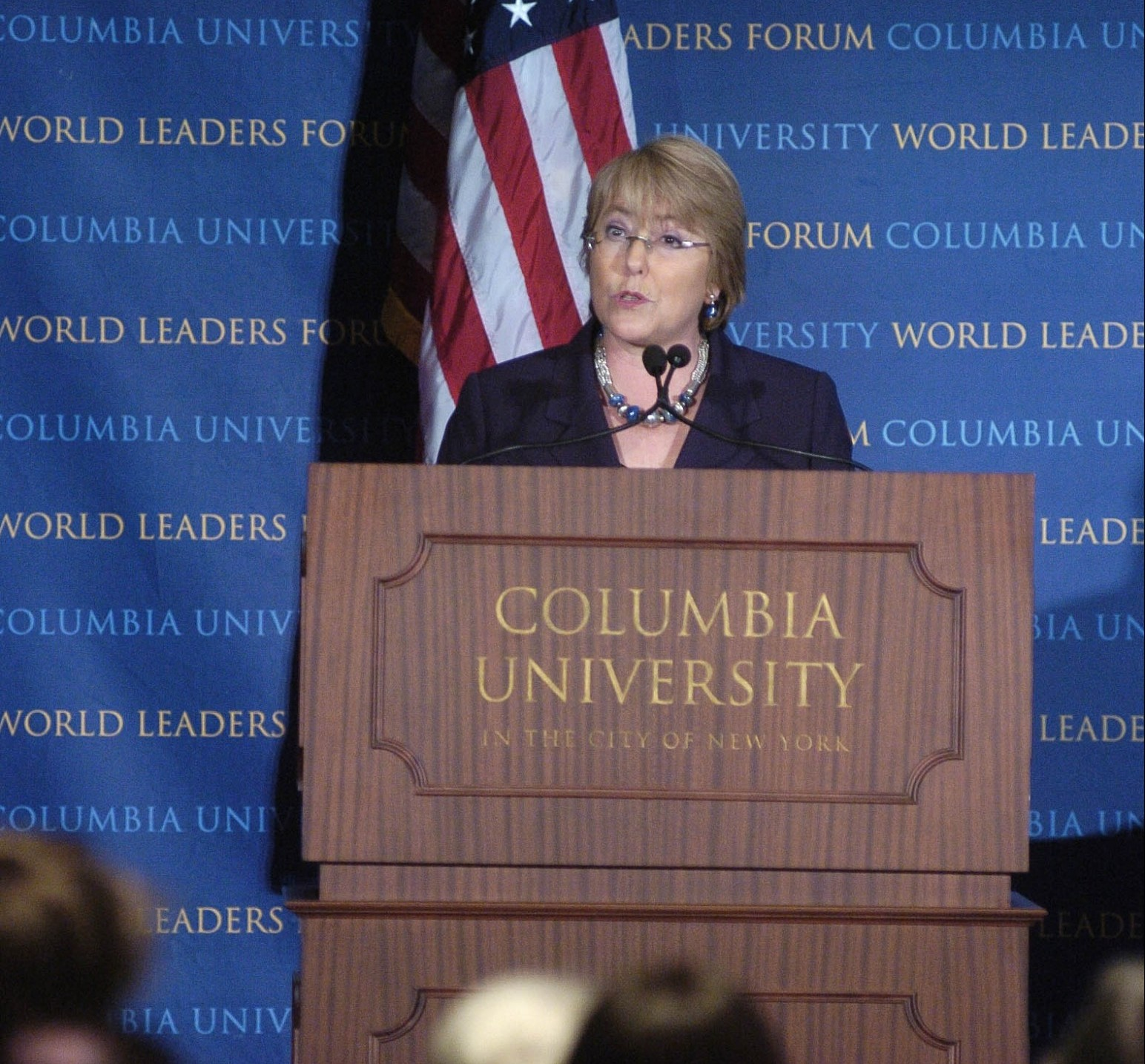 President Michelle Bachelet of the Republic of Chile