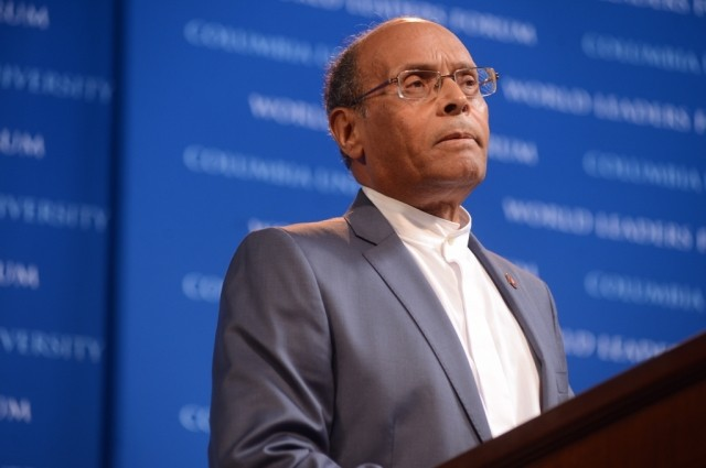 President Mohamed Moncef Marzoukim of the Republic of Tunisia