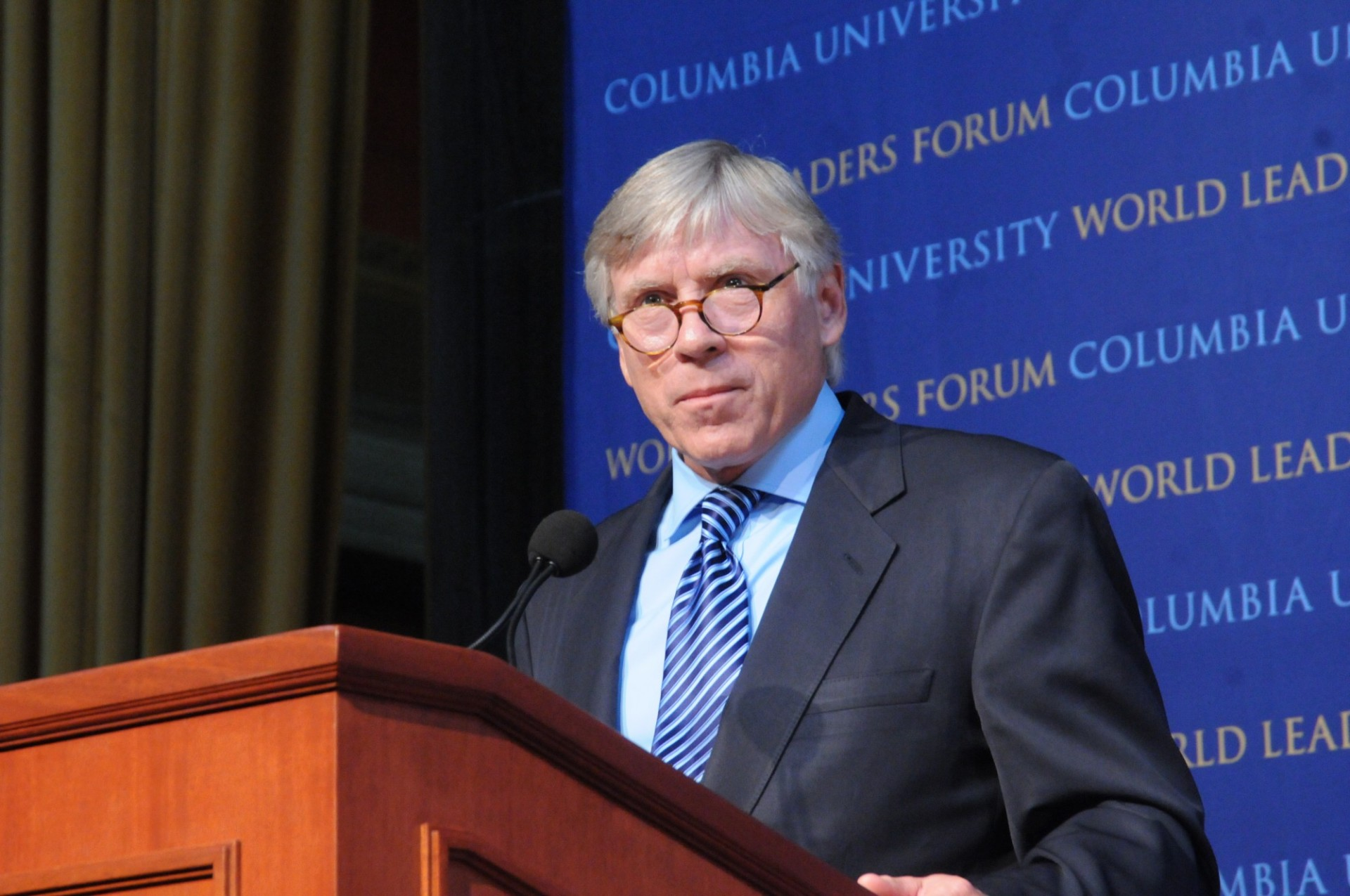 Lee C. Bollinger, President of Columbia University in the City of New York