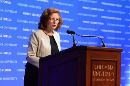 Introduction by Merit E. Janow, Dean, School of International and Public Affairs, Columbia University in the City of New York.