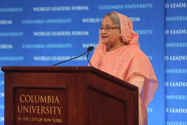 Prime Minister Sheikh Hasina of the Government of Bangladesh